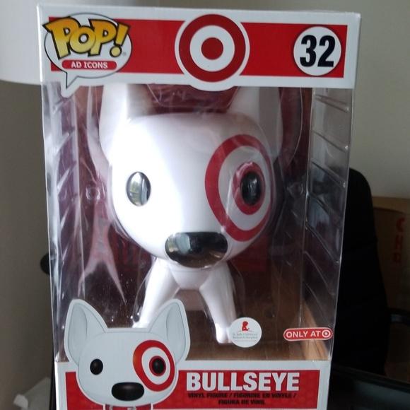 Funko Other - Vaulted Target BULLSEYE dog